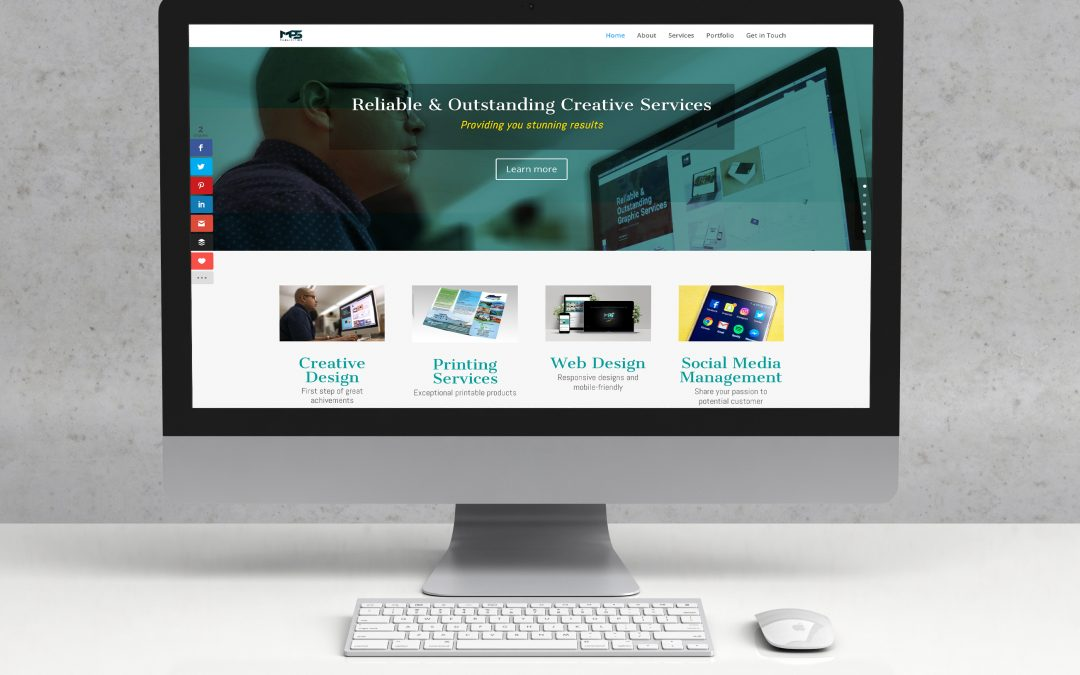 Student Project – Webdesign